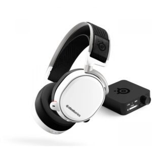 ARCTIS PRO WIRELESS + GAMEDAC WHITE gaming headset